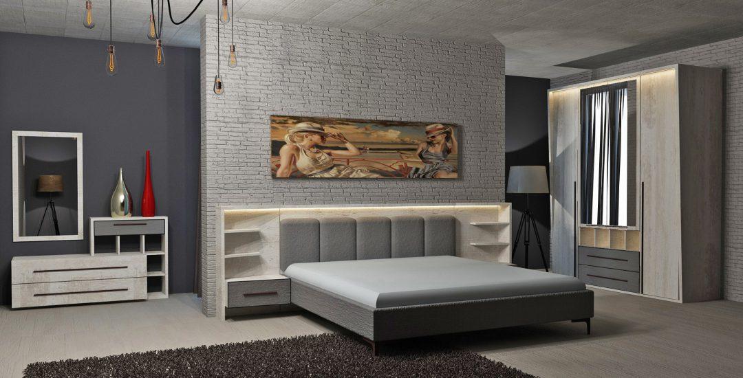 Eden Modern Italian Bedroom Set