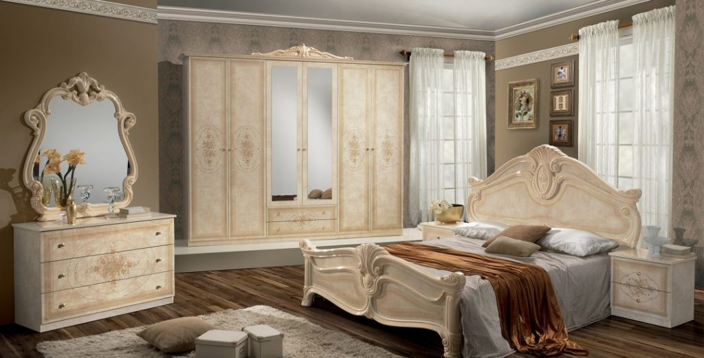 Amalfi Classic Italian Bedroom Set