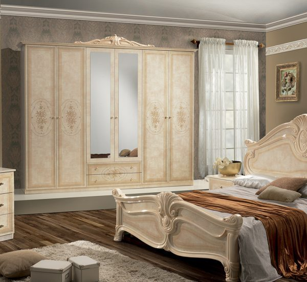 Amalfi Classic Italian Bedroom Set