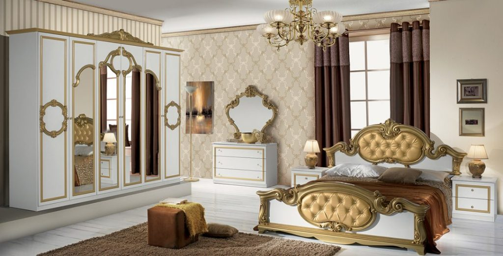 Barocco Classic Italian Bedroom Set