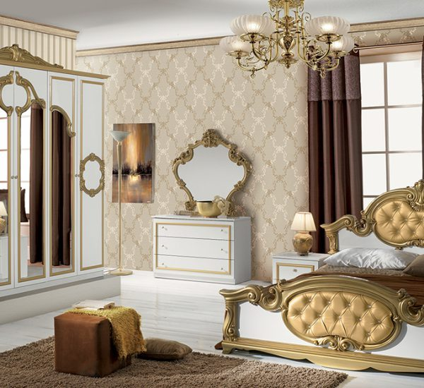 Barocco Classic Italian Bedroom Set