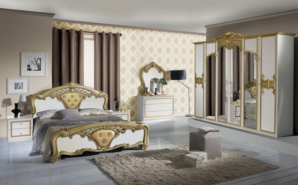 Eva-Classic Italian Bedroom Set