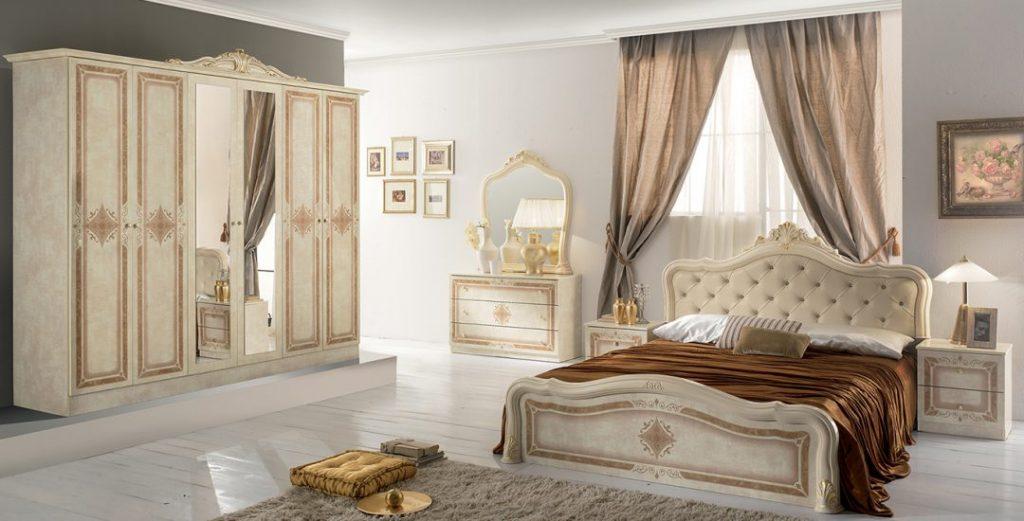 Luisa Classic Italian Bedroom Set