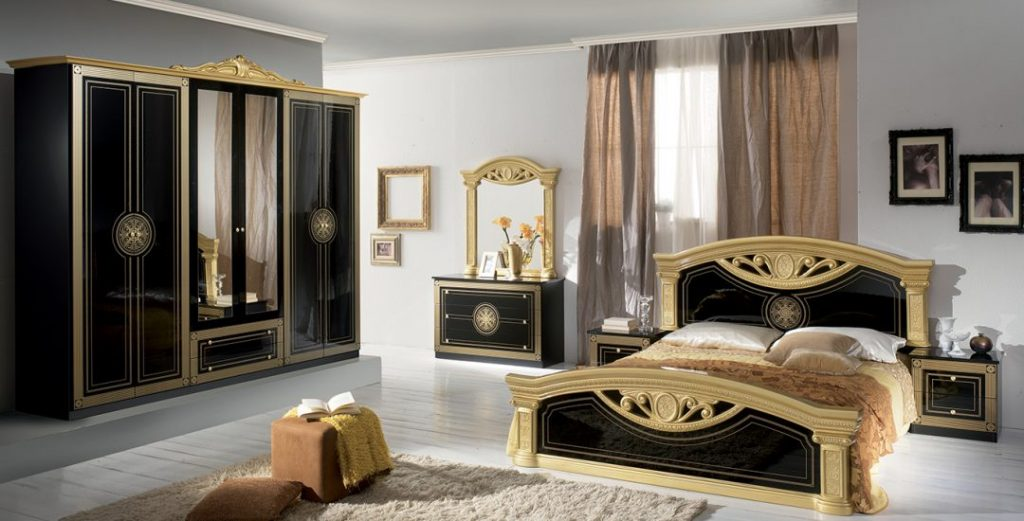 Roma Classic Italian Bedroom Set