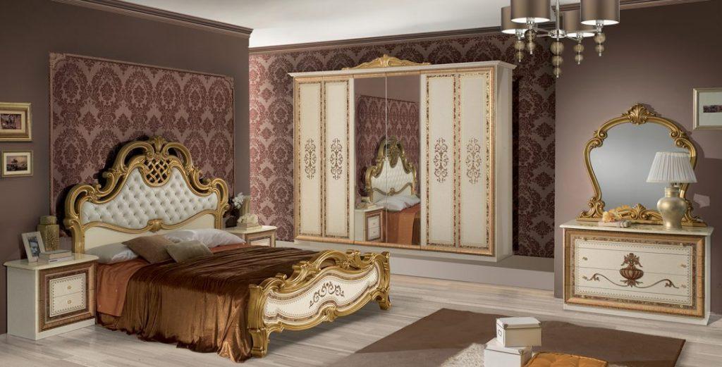 Anita Classic Italian Bedroom Set