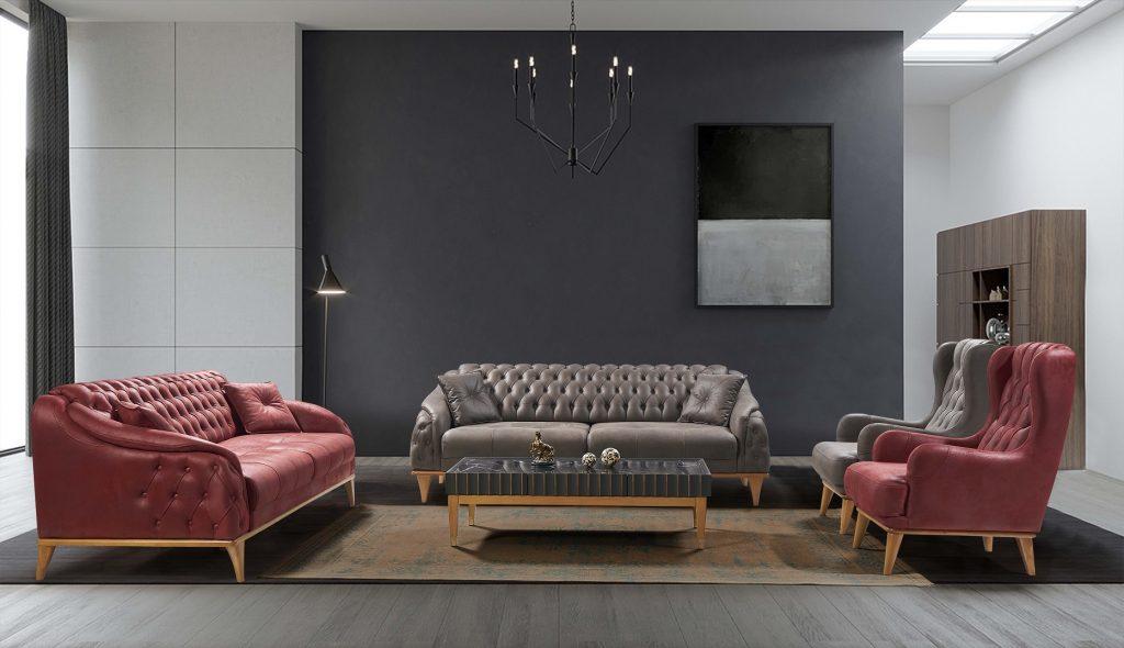 Retro Sofa 3+3+1+1