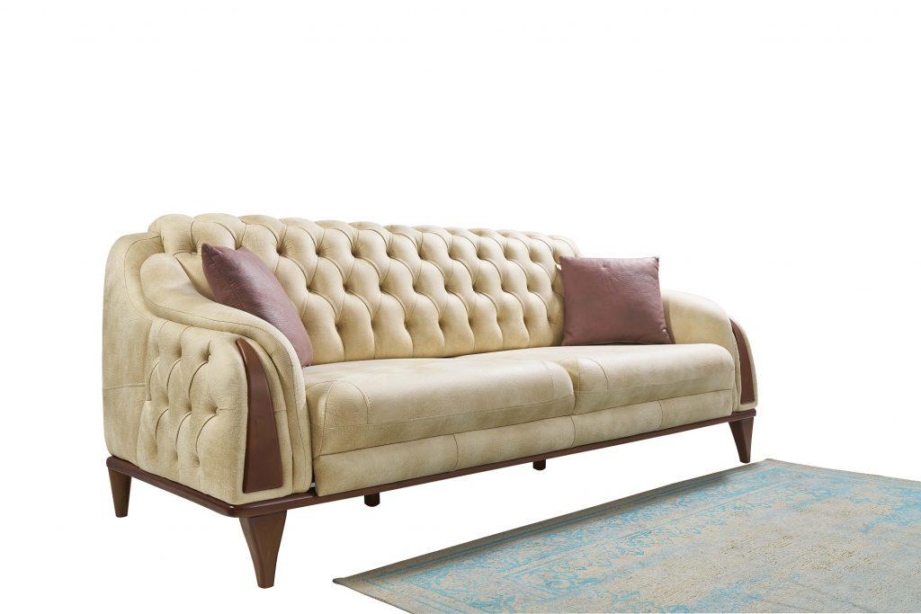 Loft Sofa-Cream 3+1