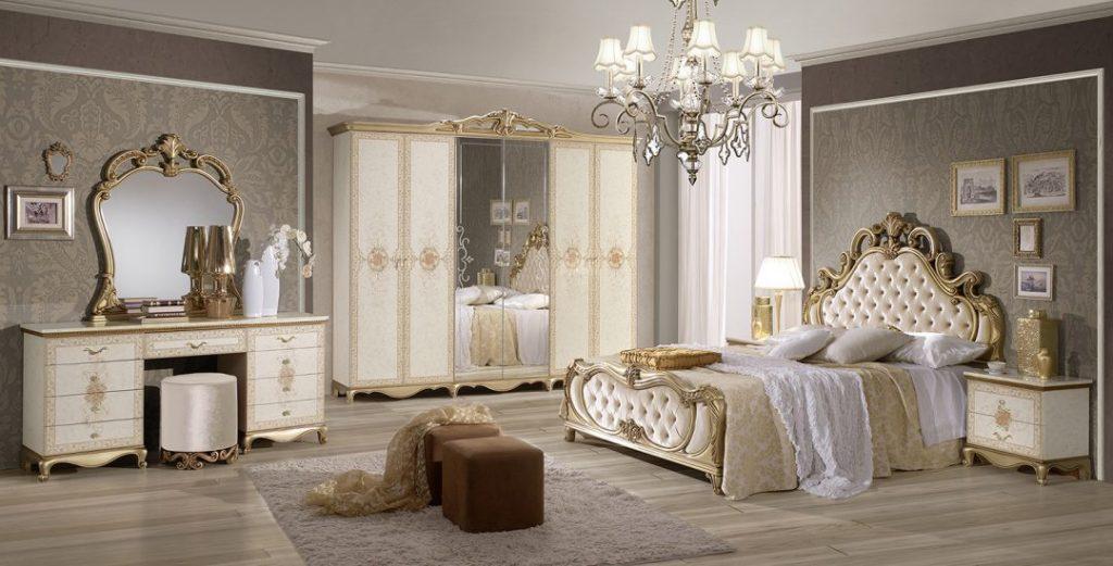 Tatjana Classic Italian Bedroom Set